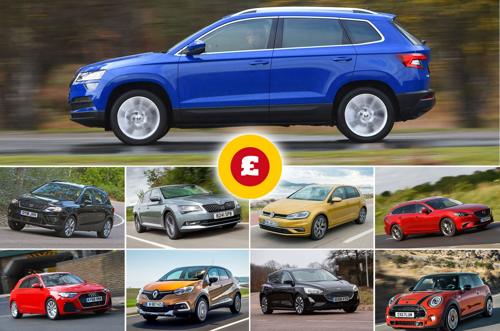 Best cars for £250 per month