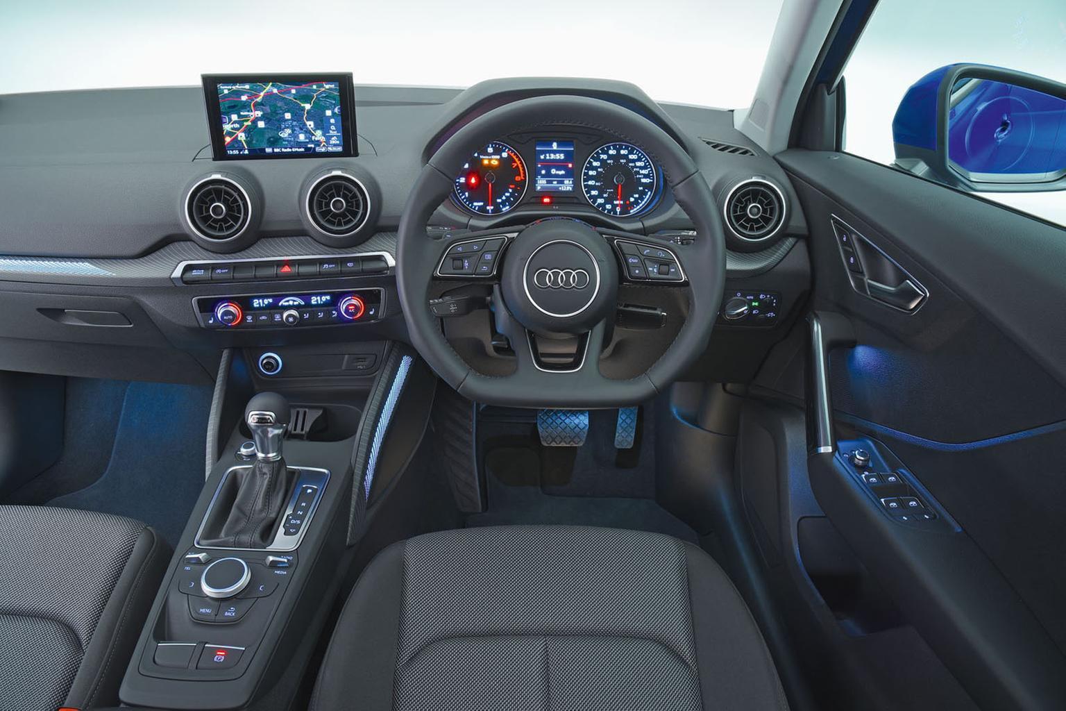 Audi Q2 interior