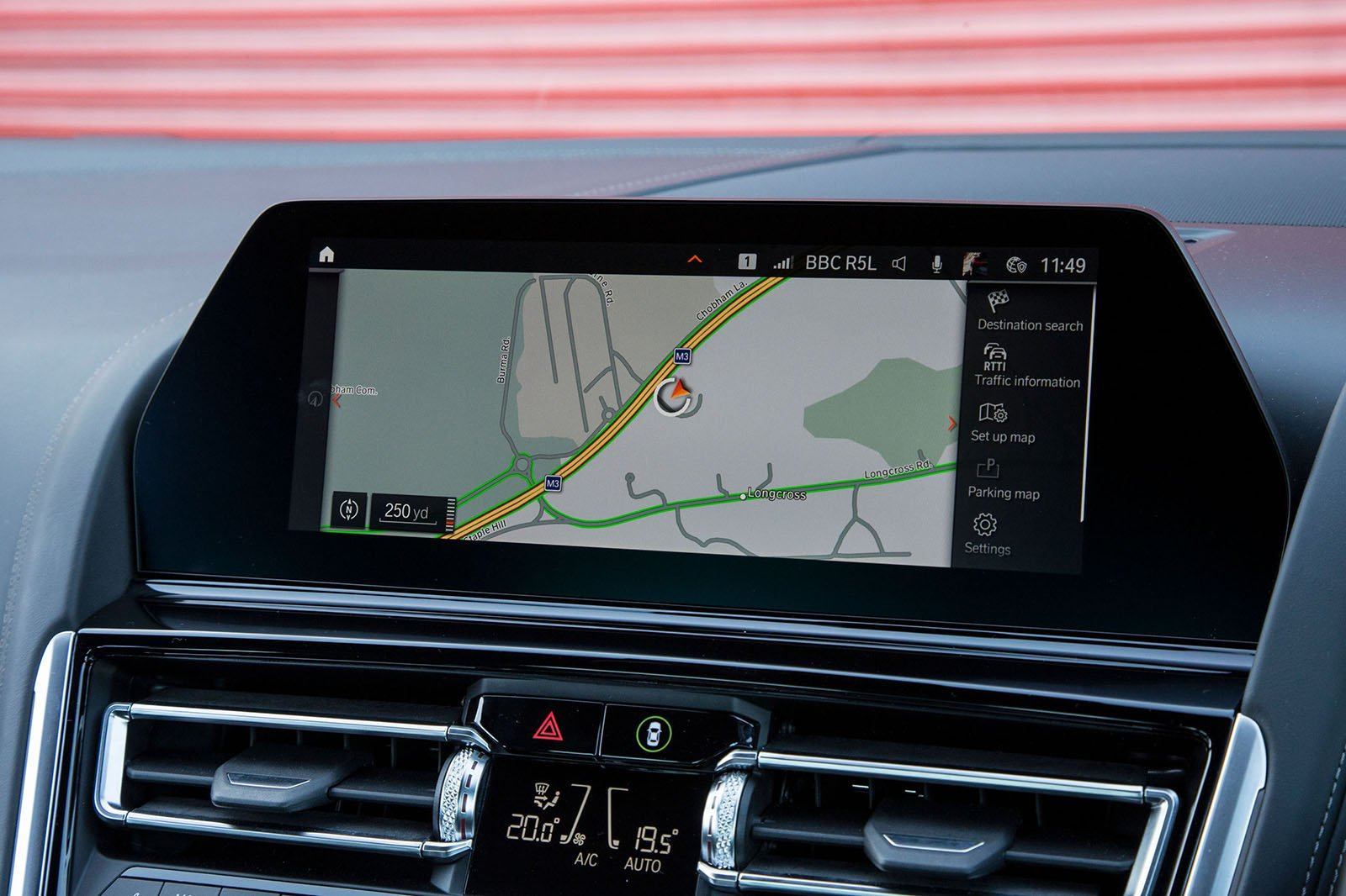 BMW 8 Series 2019 infotainment