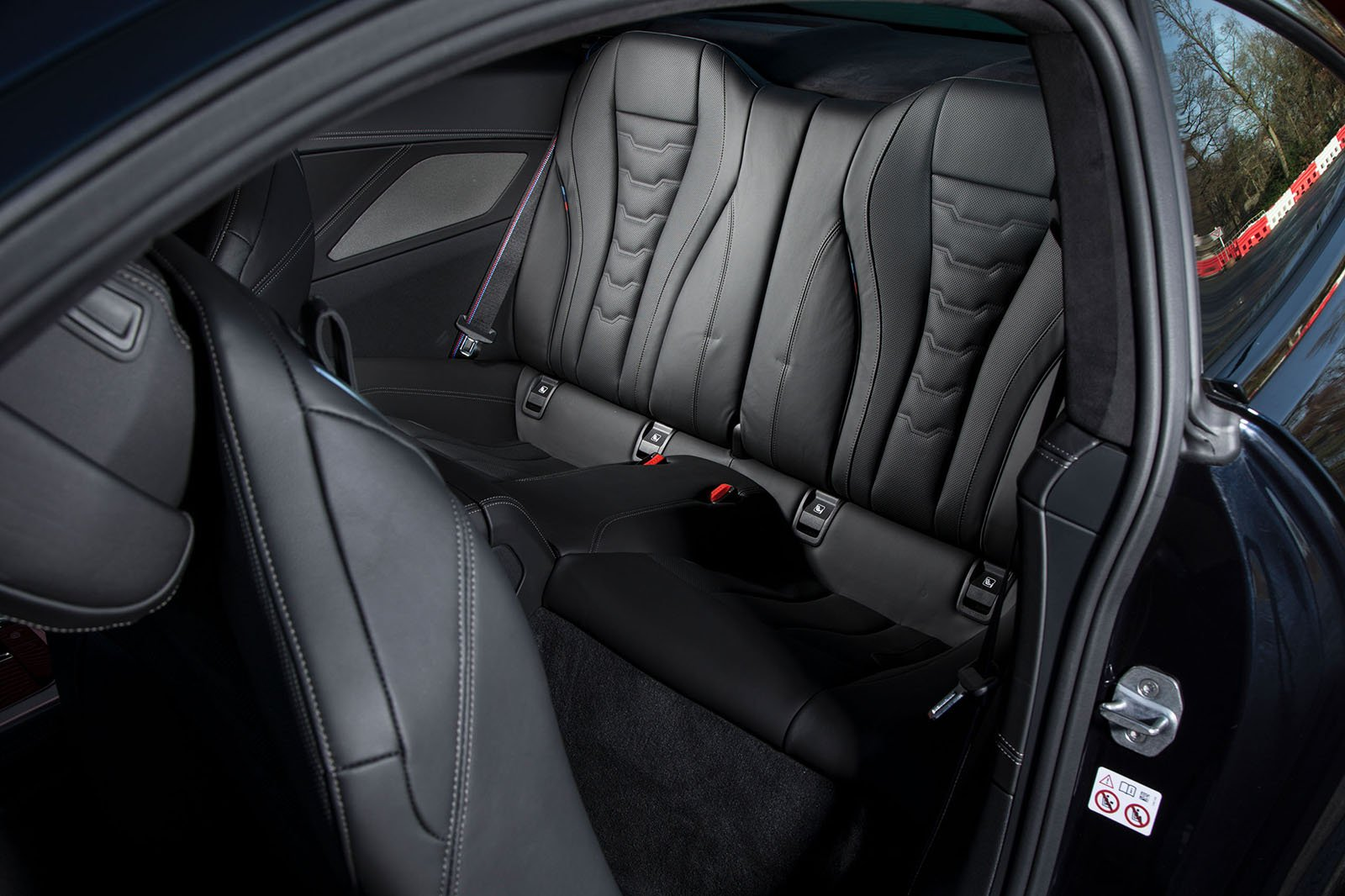 BMW 8 Series 2019 rear seats
