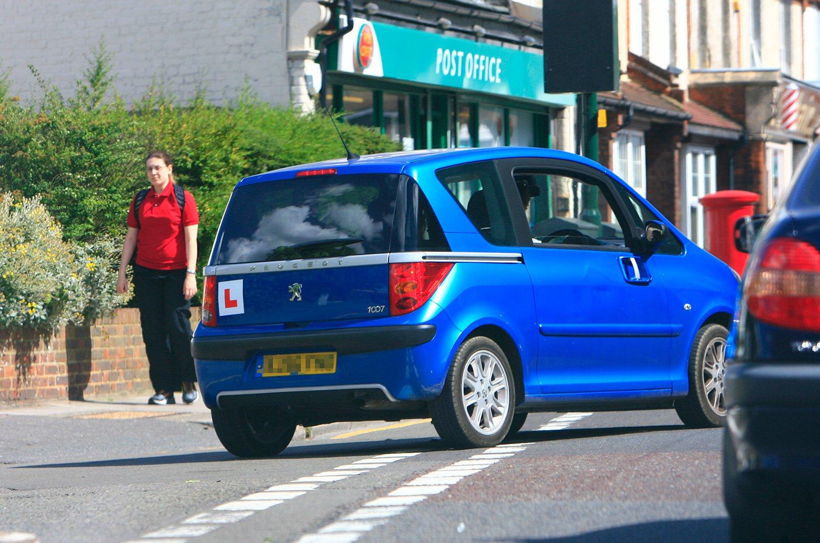 Learner drive in Peugeot 1007
