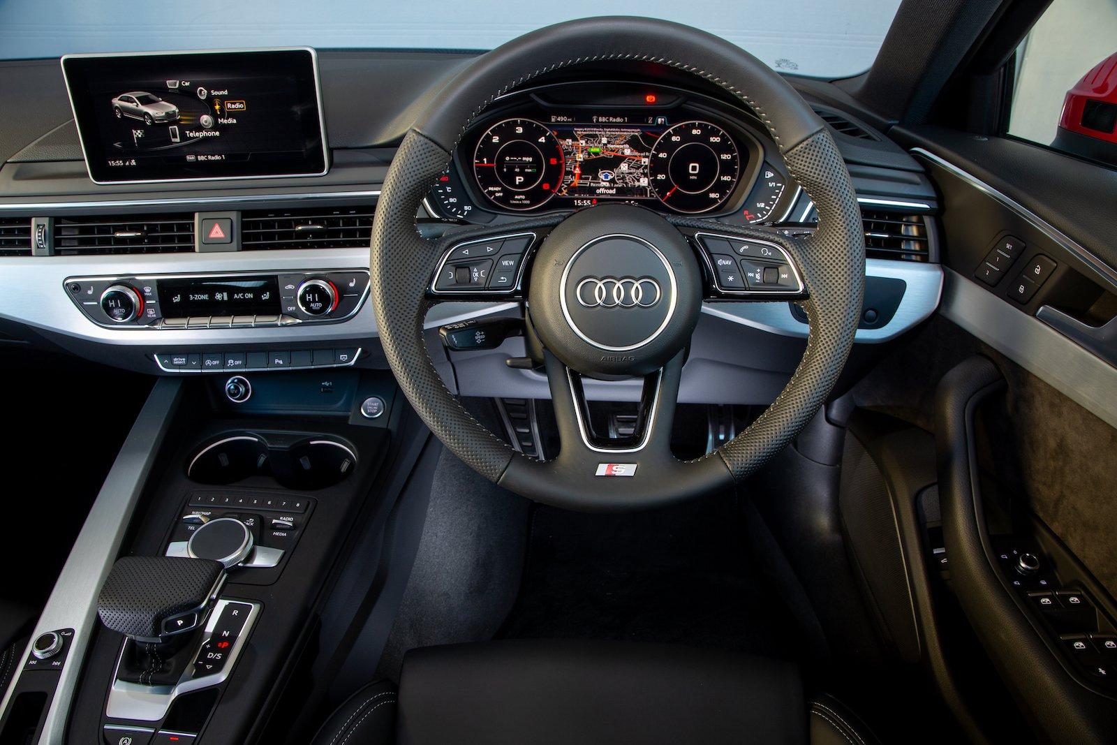 Audi A4 2019 RHD dashboard