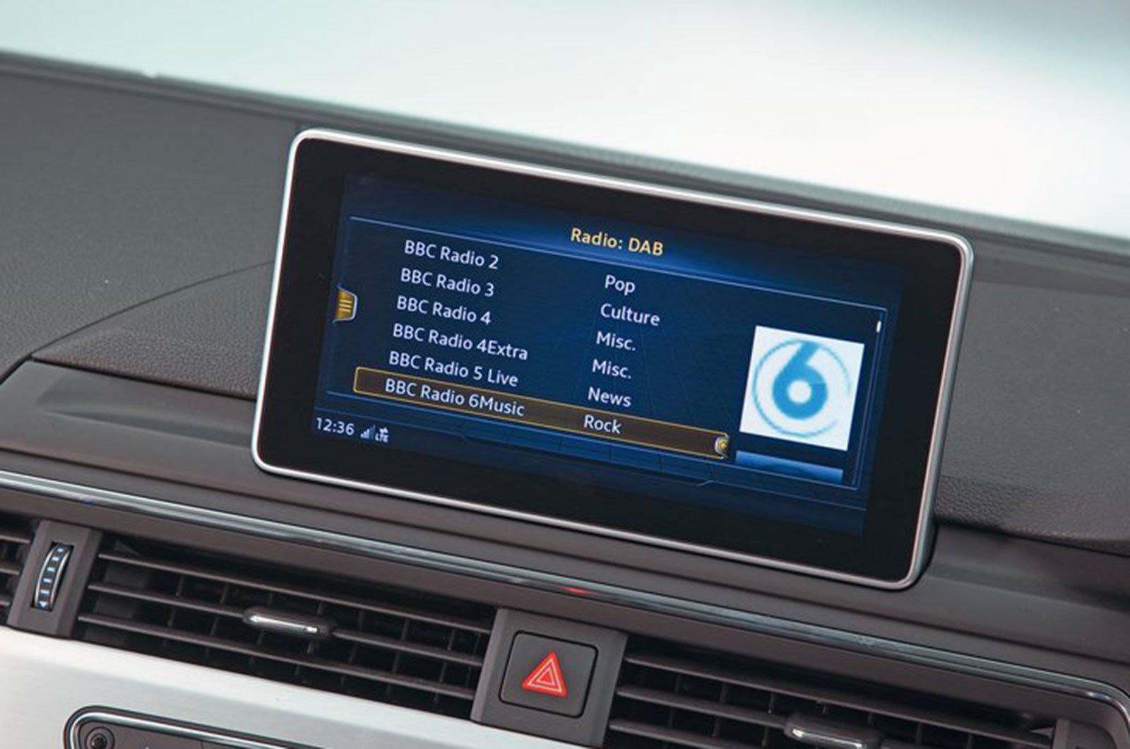 Audi A4 infotainment