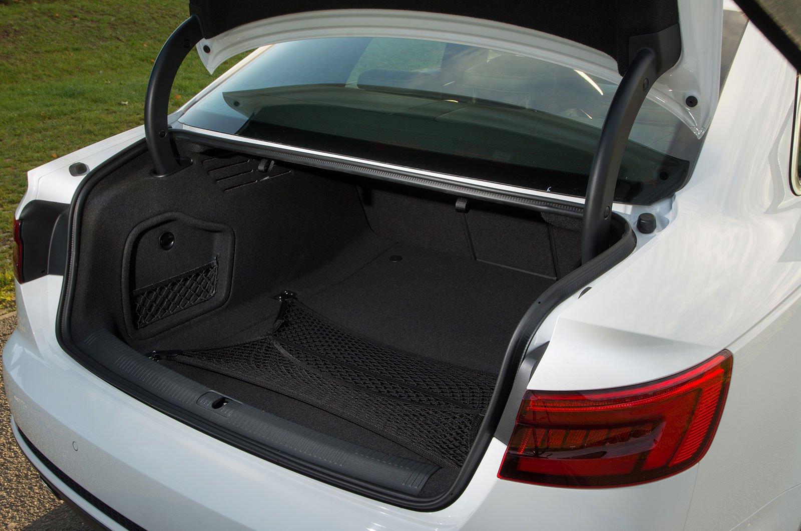 Audi A4 boot
