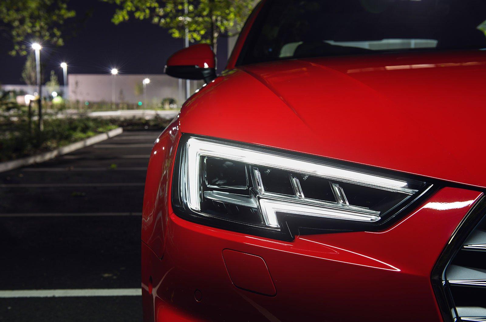 Audi A4 LED lights
