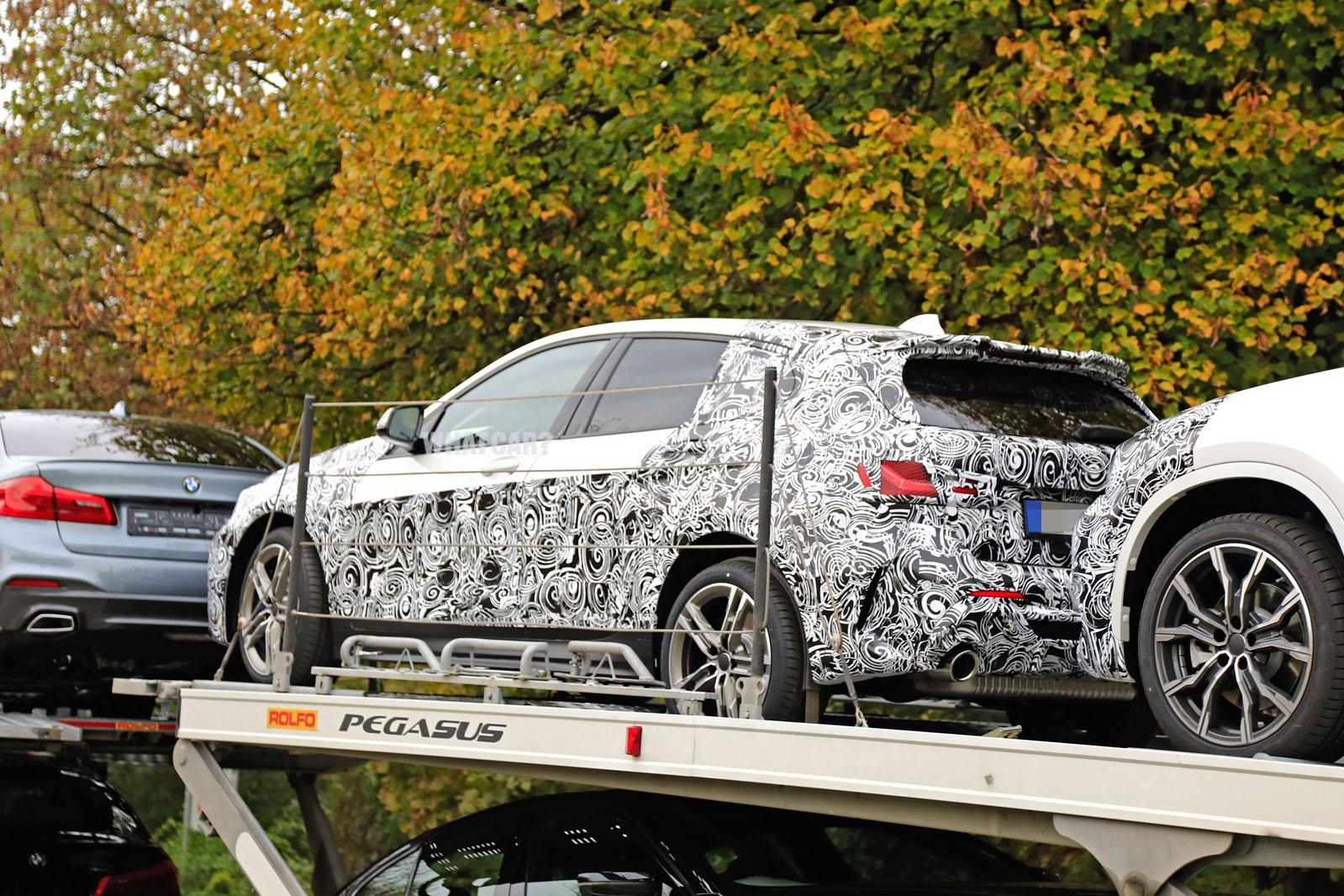 2019 BMW 1 Series spy shots