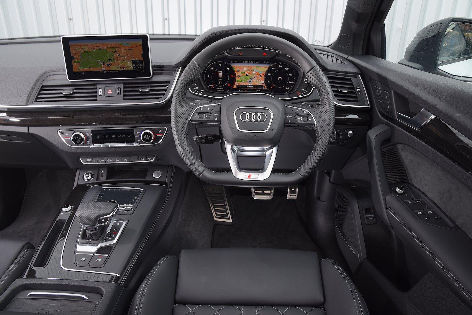 Audi Q5 Vorsprung Interior