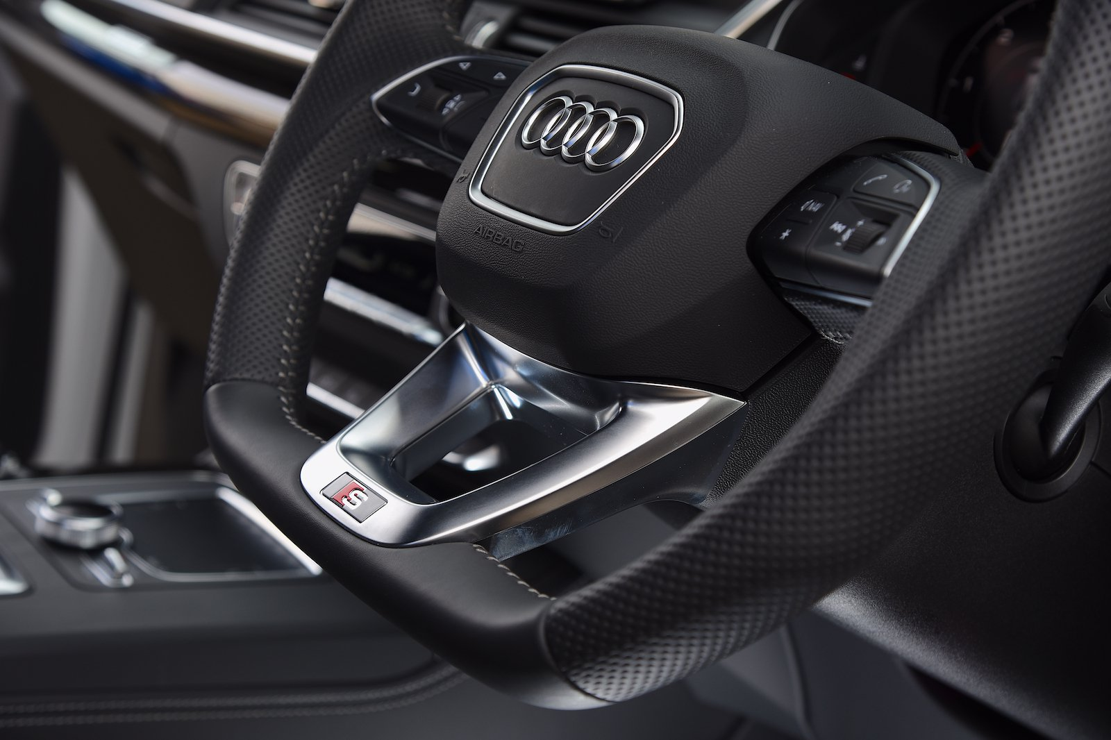 Audi Q5 Vorsprung Steering Wheel