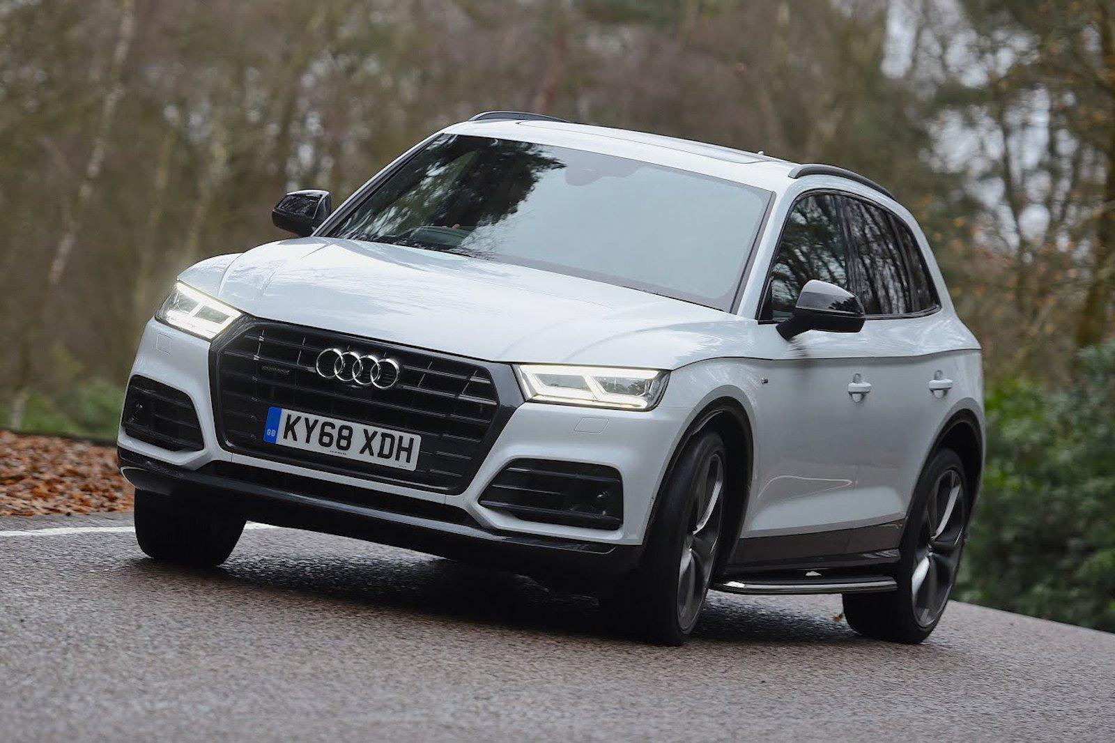 Audi A5 Vorsprung Header Handling