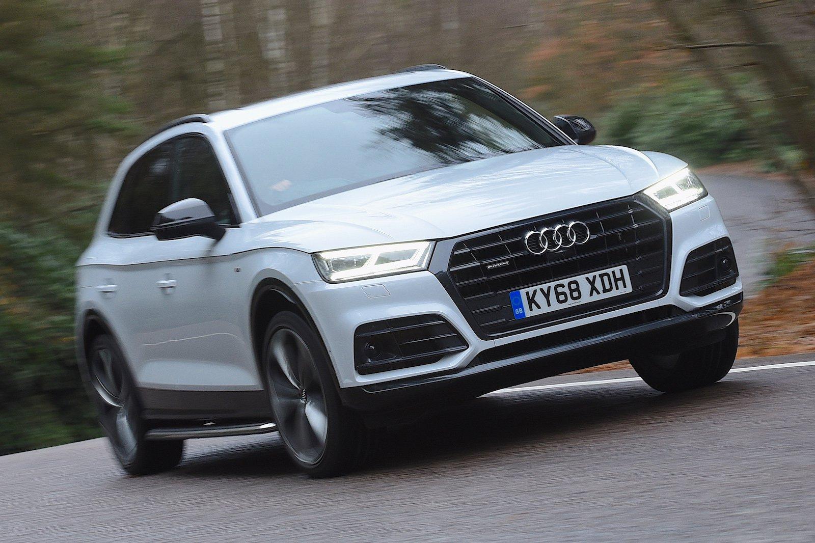 Audi Q5 Vorsprung Cornering Crest