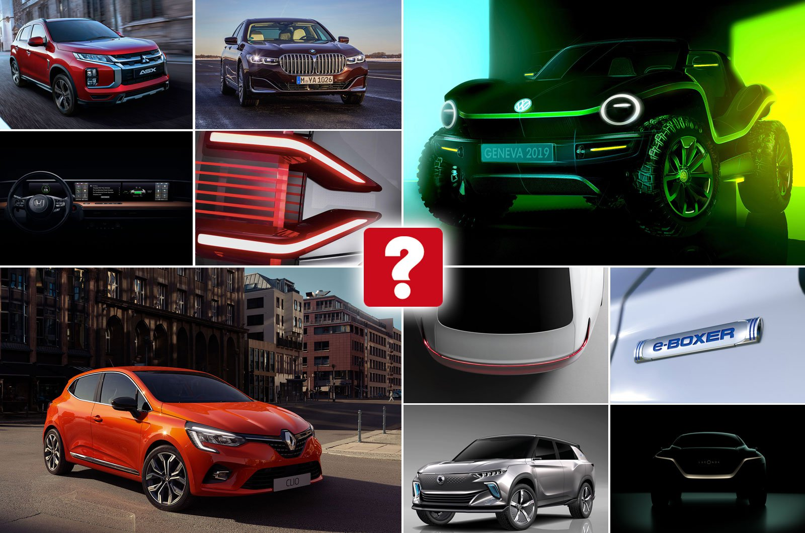 Star cars of the Geneva motor show 2019