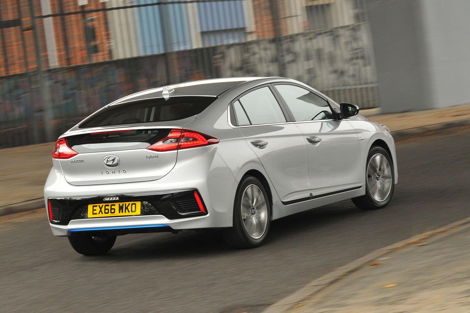 Used Hyundai Ioniq Rear