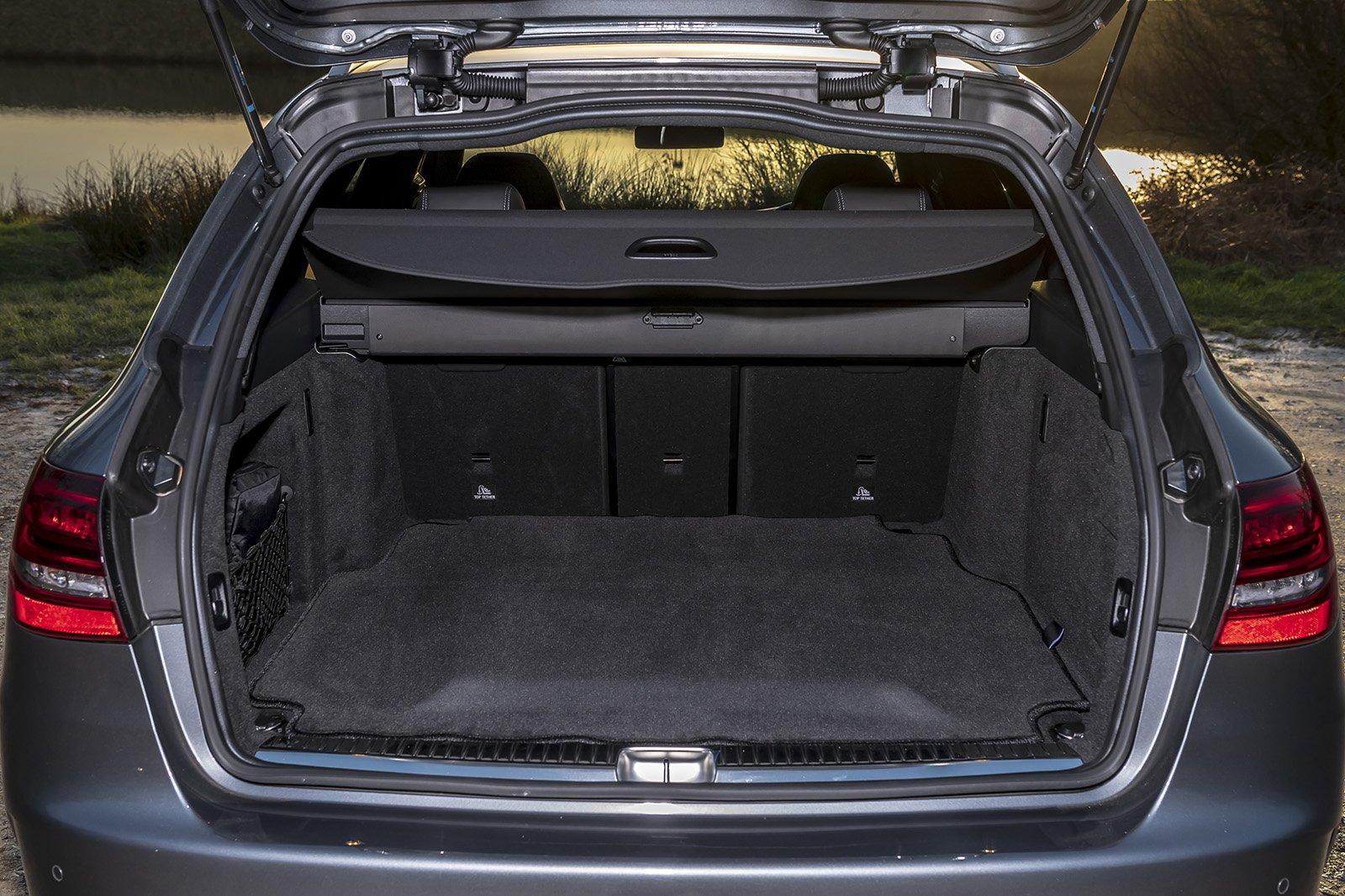 Mercedes-AMG C63 Estate boot