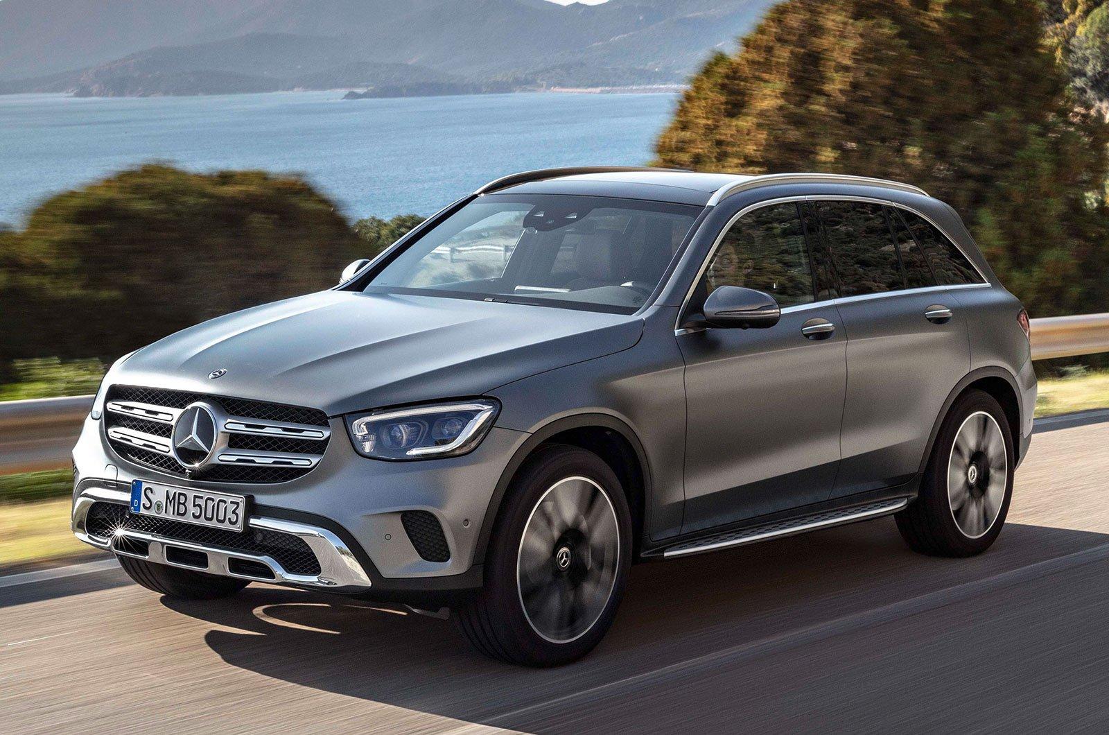2019 Mercedes GLC front