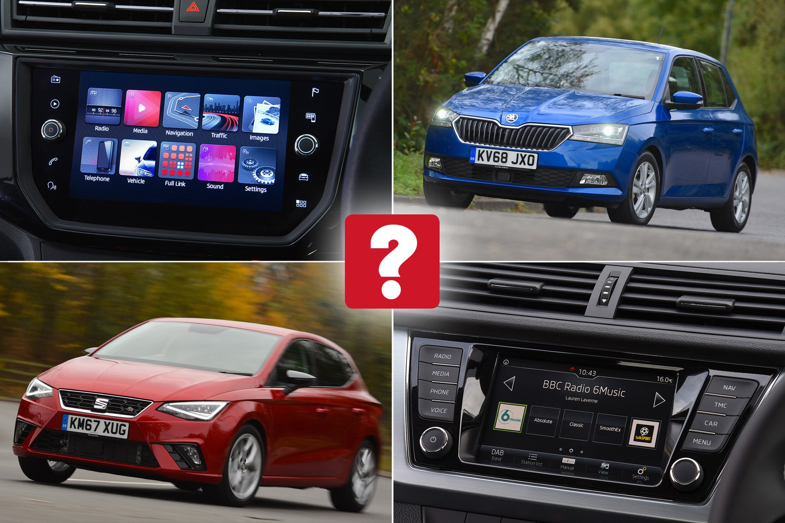 New Skoda Fabia vs used Seat Ibiza: which is best?