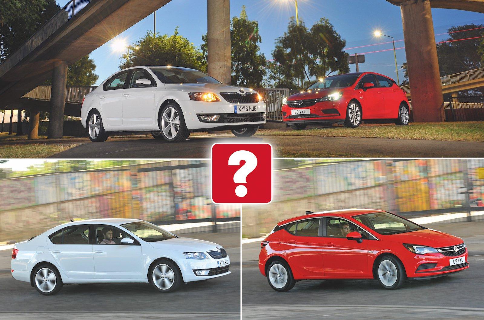 Used Skoda Octavia vs Vauxhall Astra