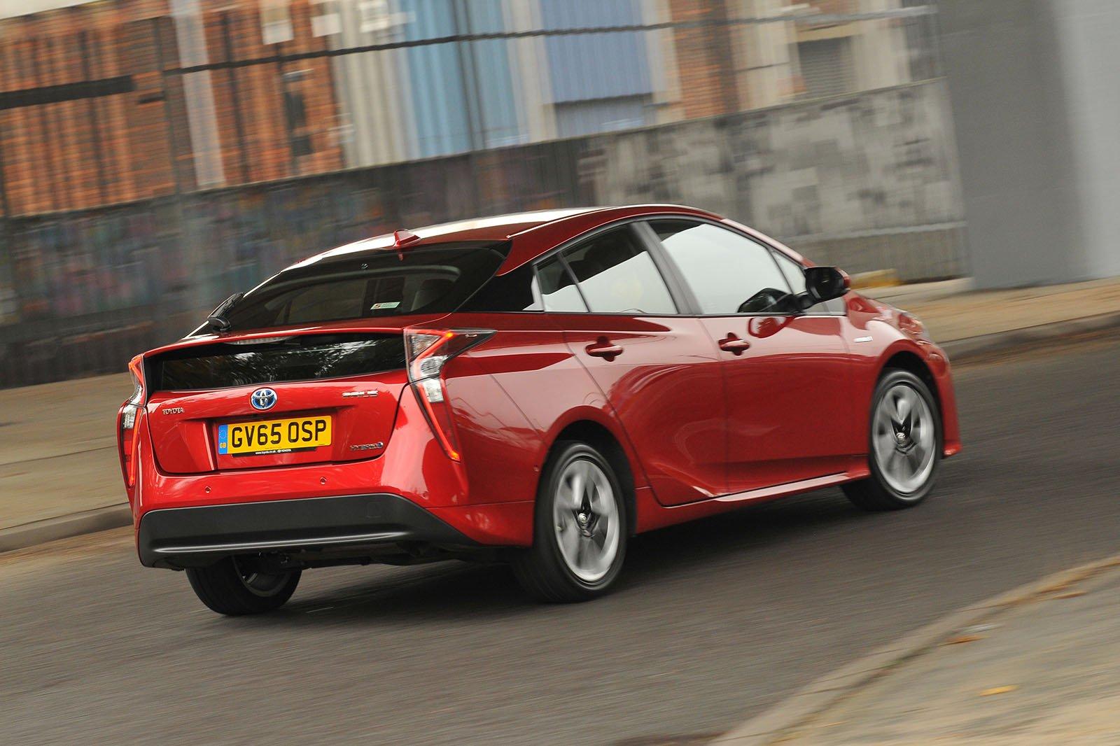 Used Toyota Prius rear