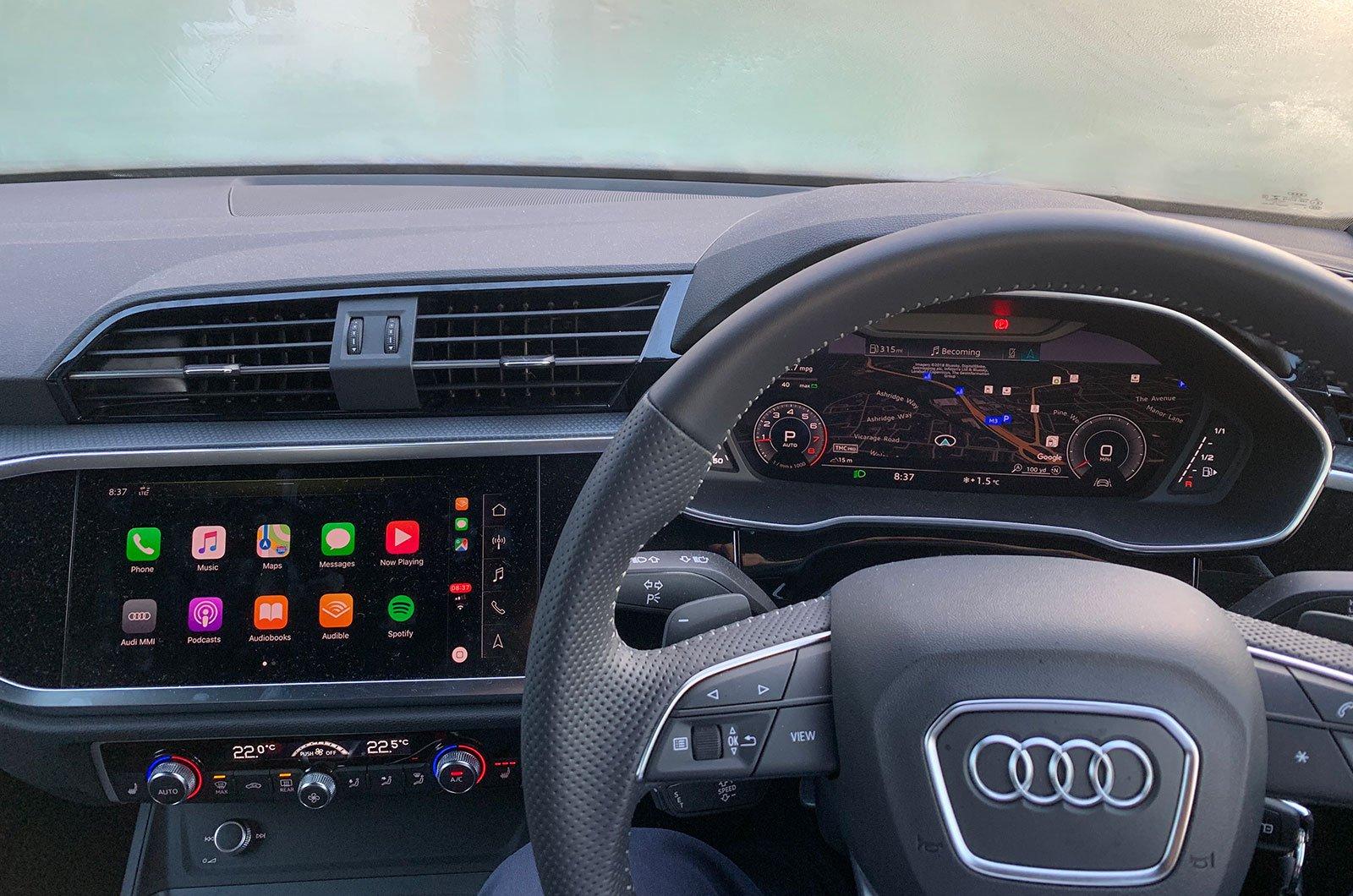 Audi Q3 interior