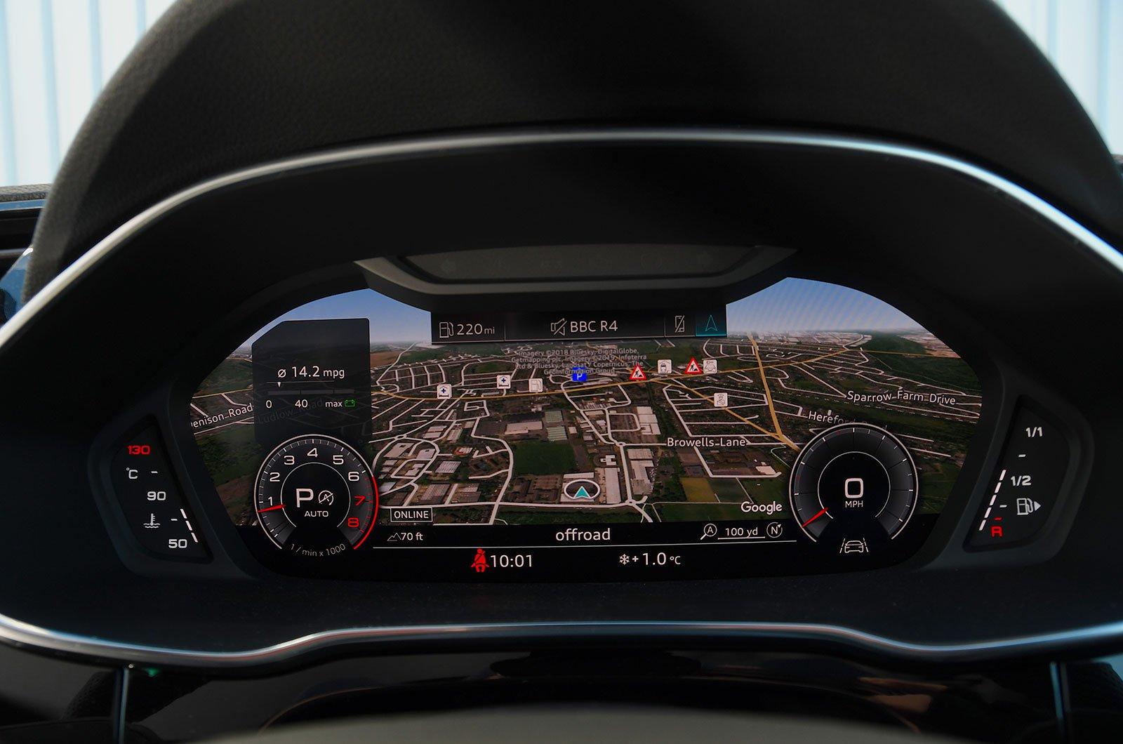 Audi Q3 infotainment screen