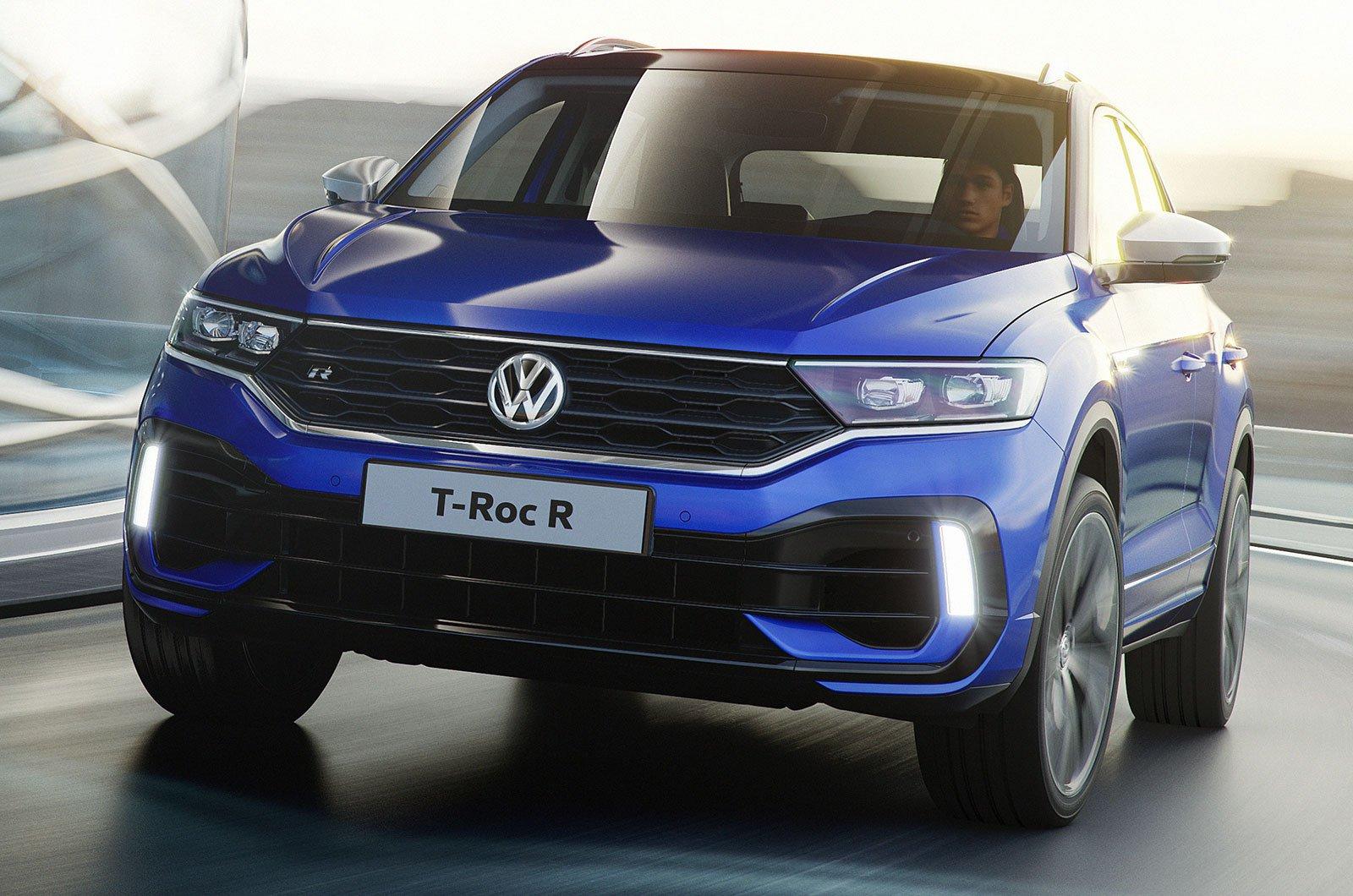 Volkswagen T-Roc R front