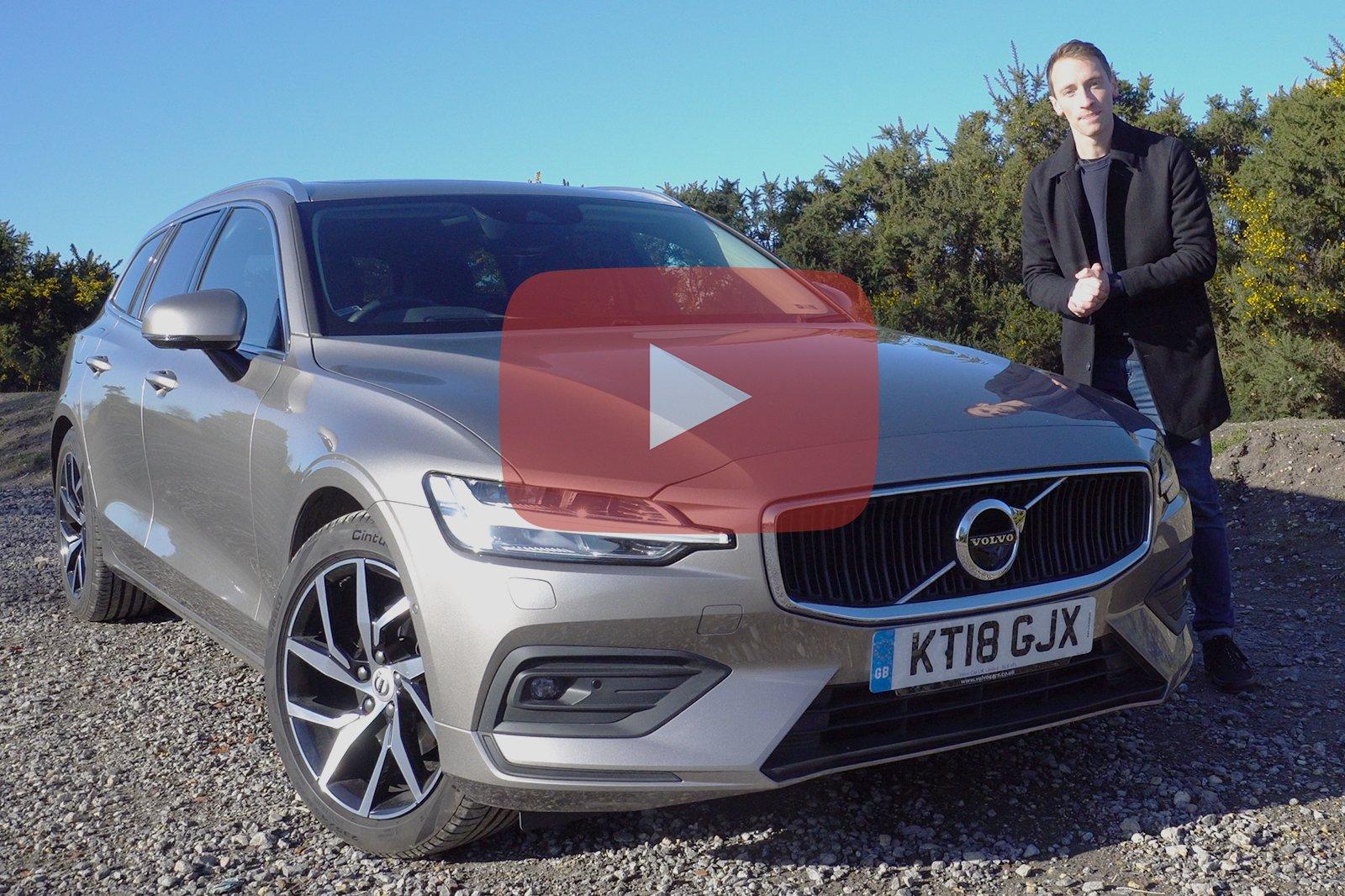 Volvo V60 YouTube thumbnail