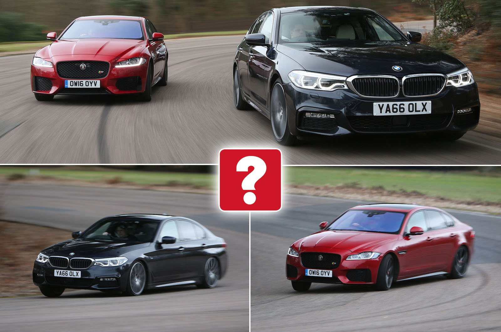 Used test: BMW 5 Series vs Jaguar XF