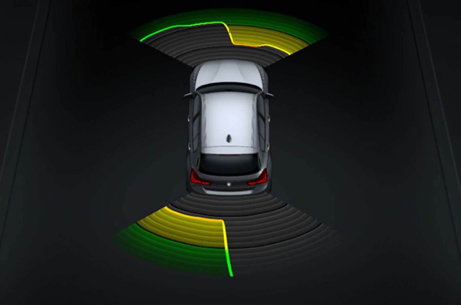 BMW 1 Series park distance control
