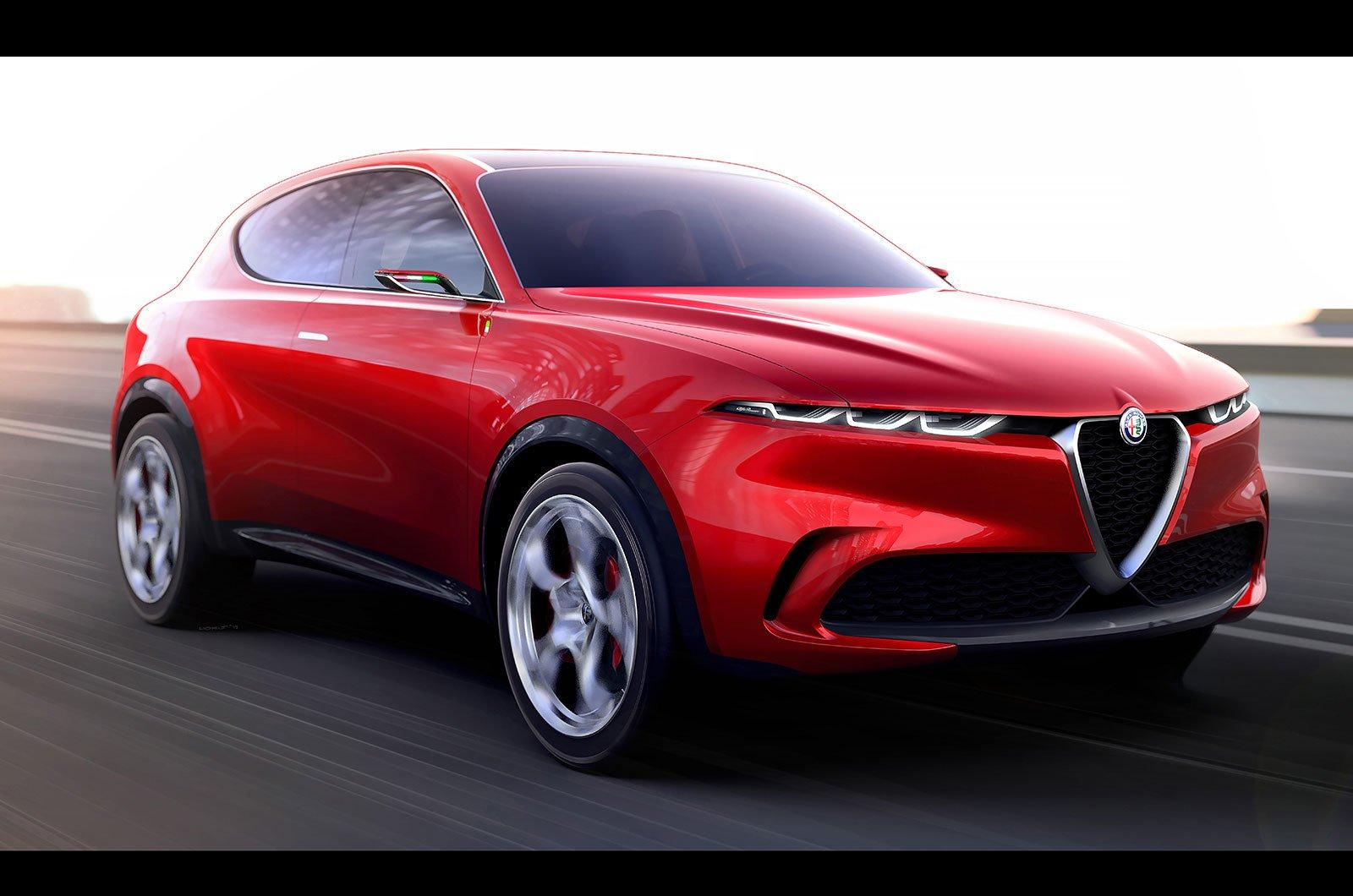 Alfa Romeo Tonale front