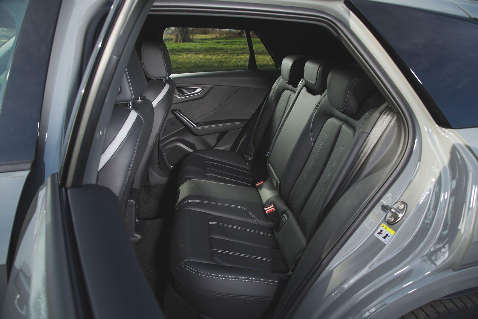 Audi SQ2 2019 rear seats