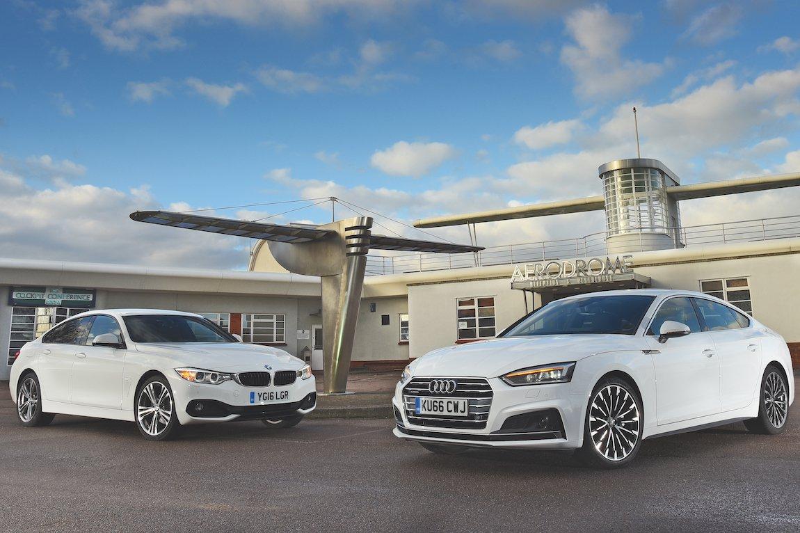 Audi A5 Sportback vs BMW 4 Series Gran Coupe