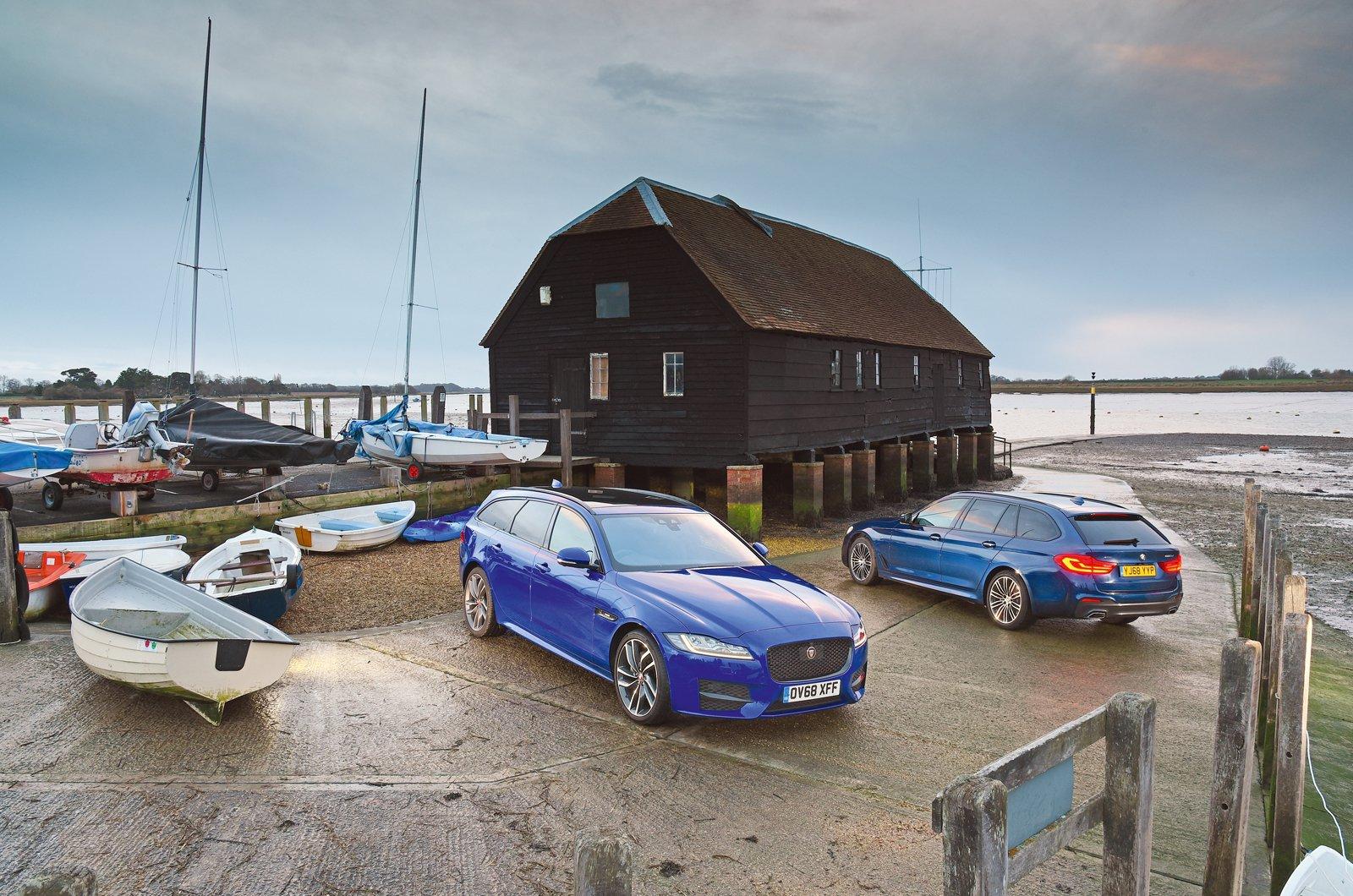 BMW 5 Series Touring vs Jaguar XF Sportbrake