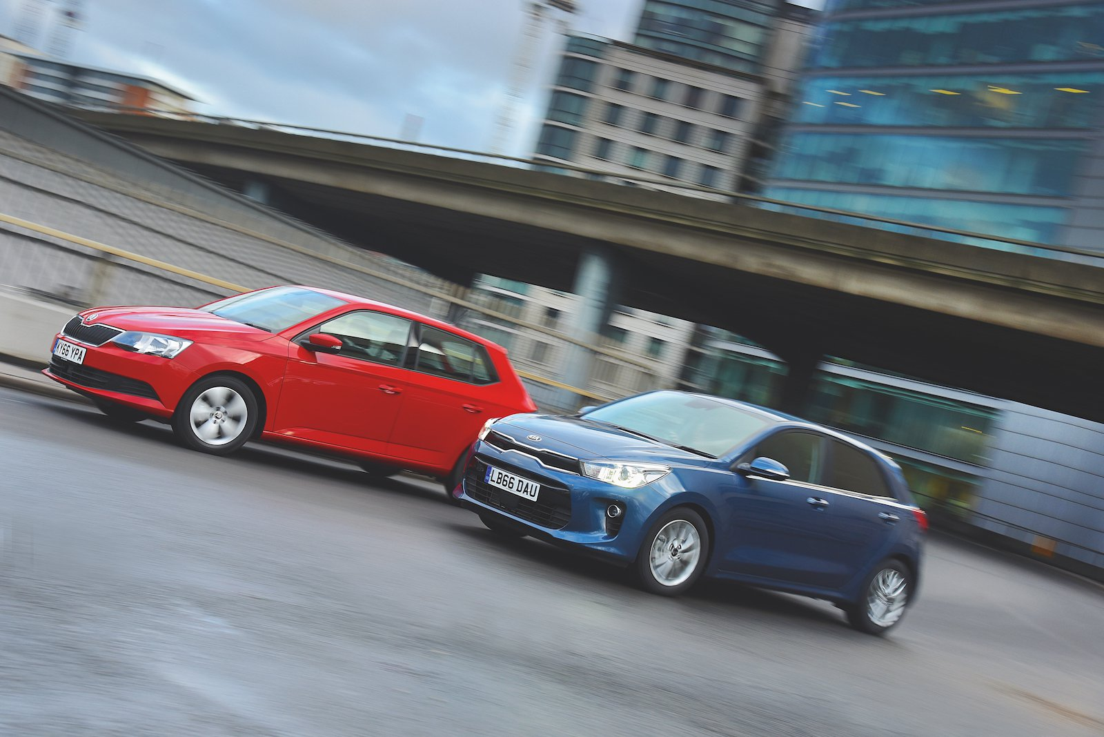 Used test: Kia Rio vs Skoda Fabia