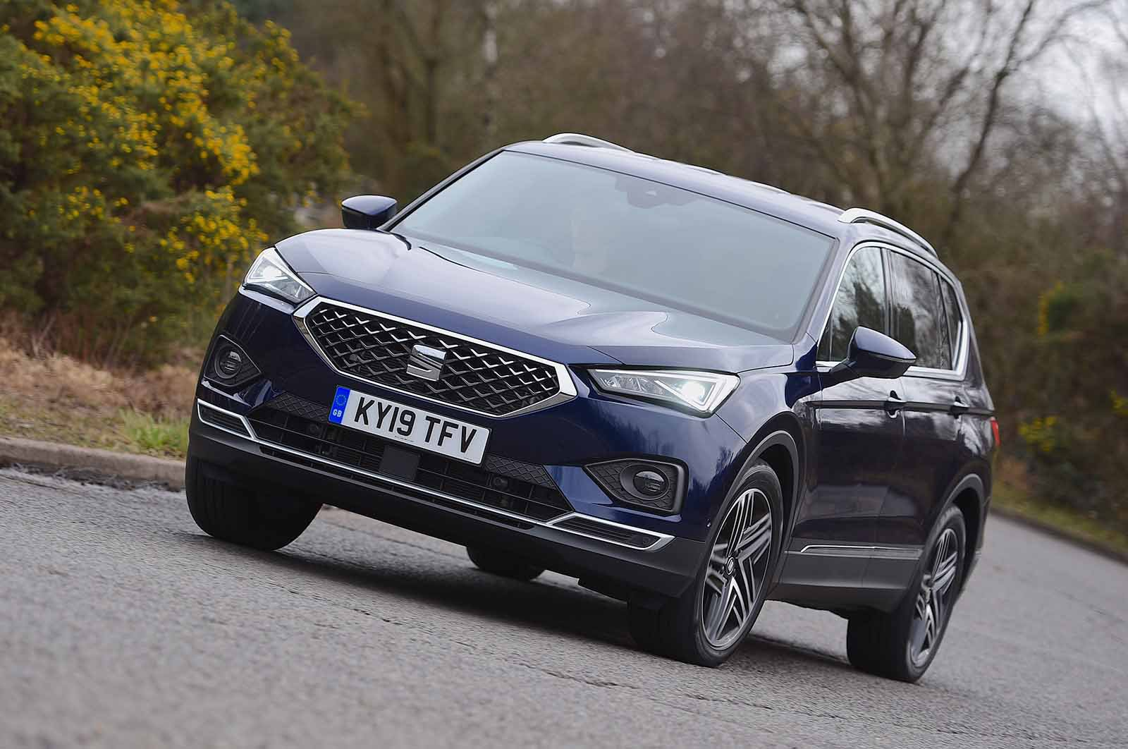 Seat Tarraco 2019 front cornering shot