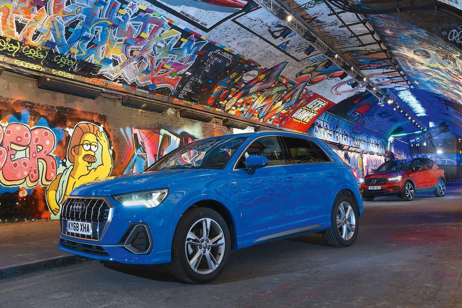 New Audi Q3 vs New Volvo XC40