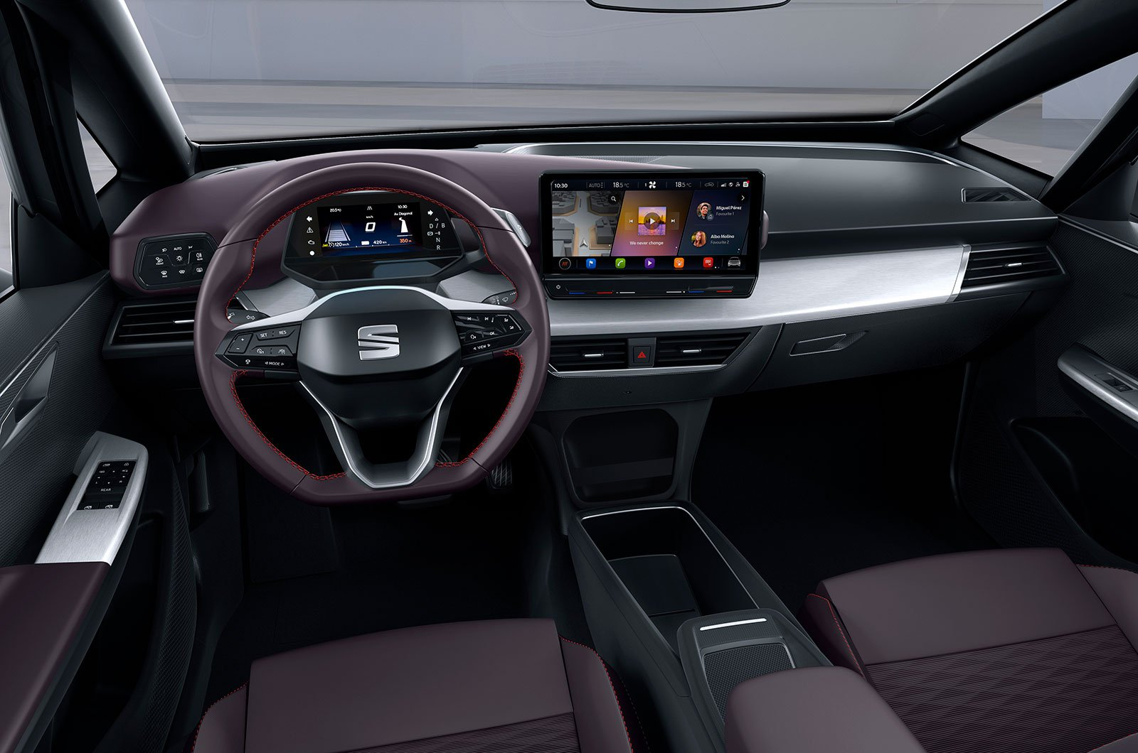 Seat el-Born concept interior