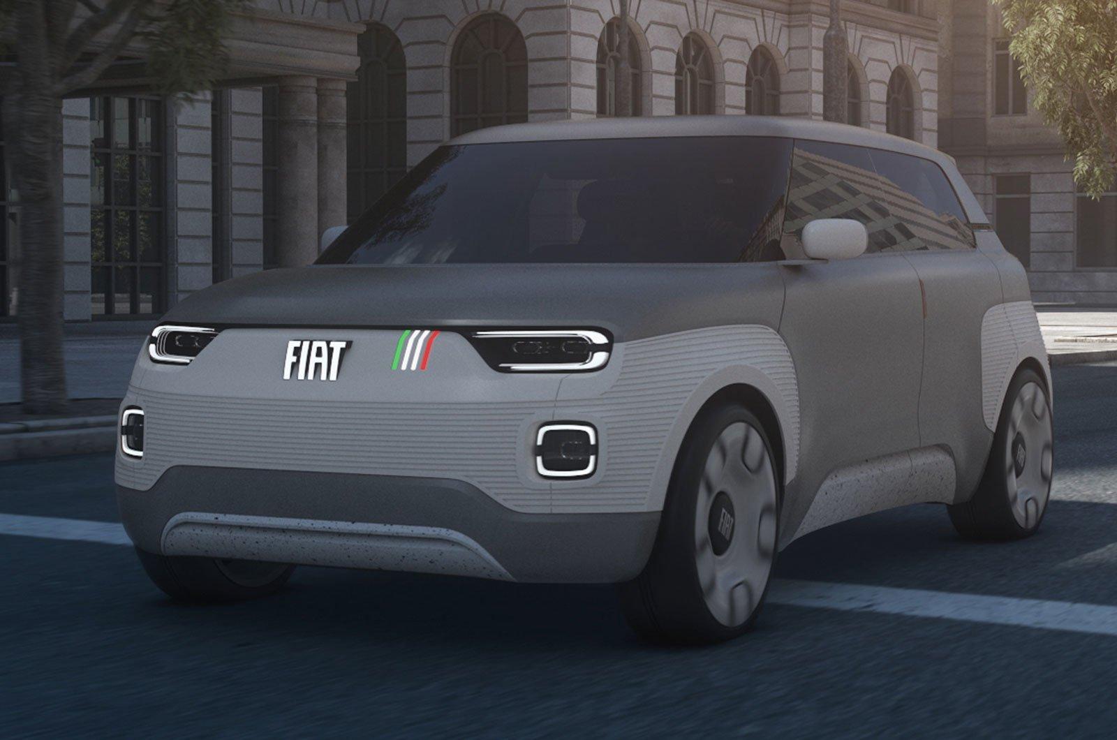 Fiat Centovetti concept front