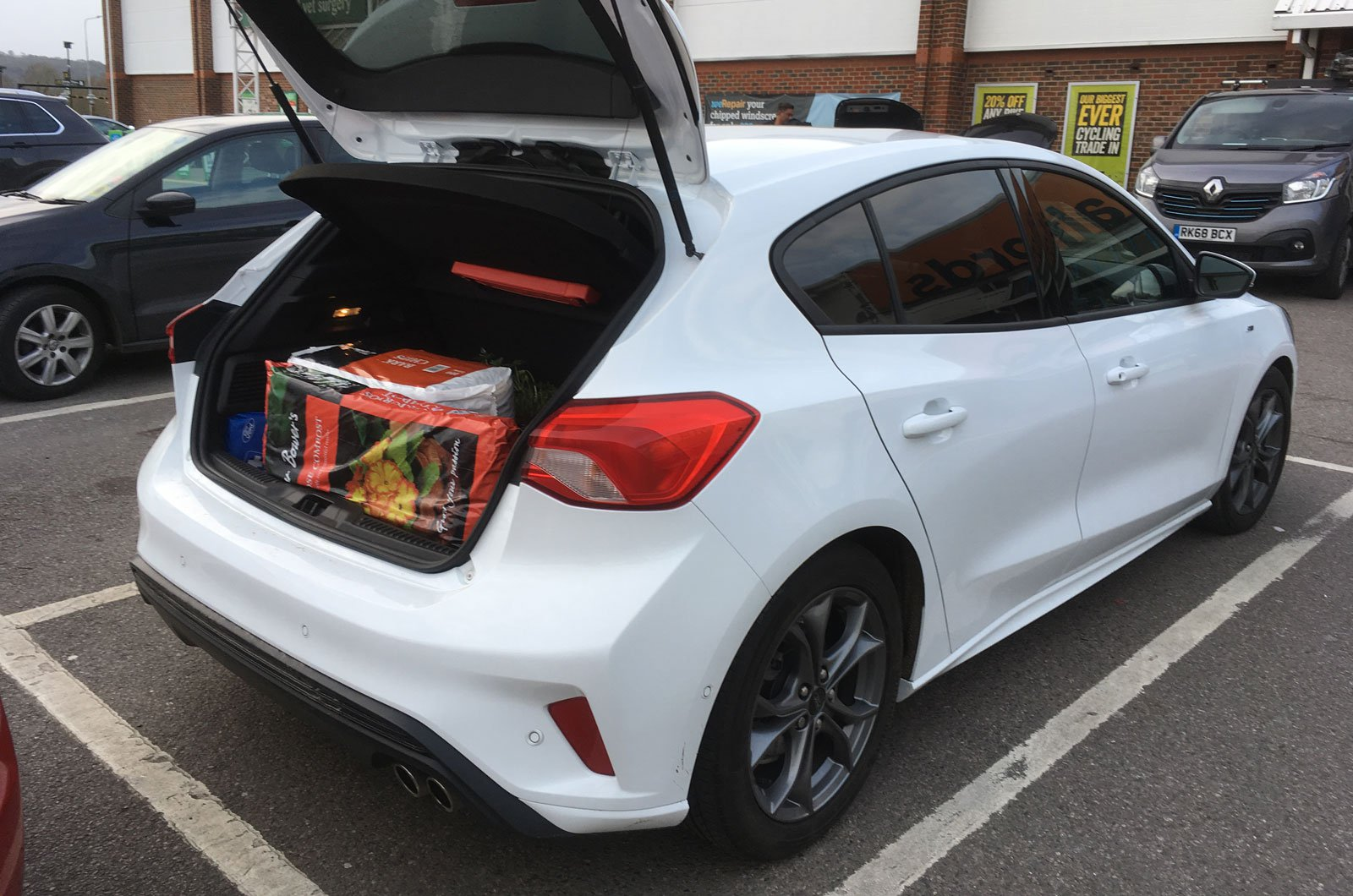 Ford Focus boot