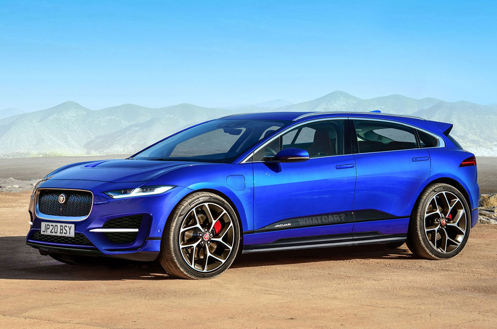 Jaguar J Pace Side