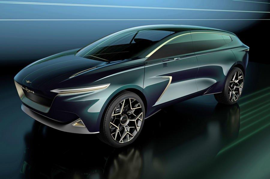 Aston Martin Lagonda concept SUV front