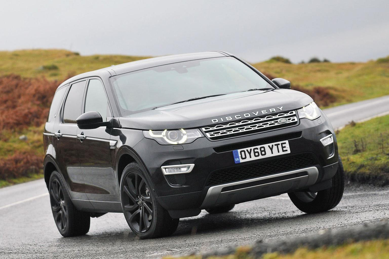 Land Rover Discovery Sport front