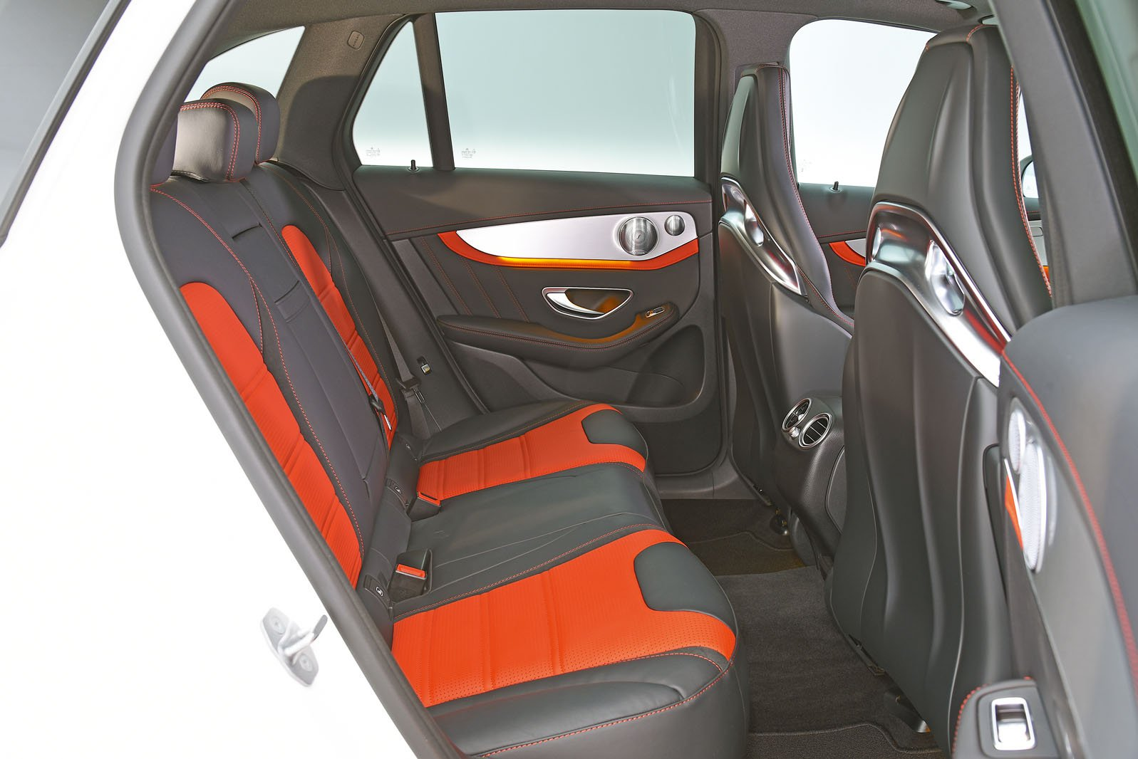 Mercedes AMG GLC 63 S rear seats