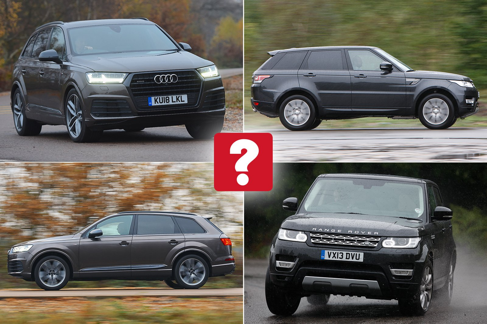 New Audi Q7 vs used Range Rover Sport: which is best?