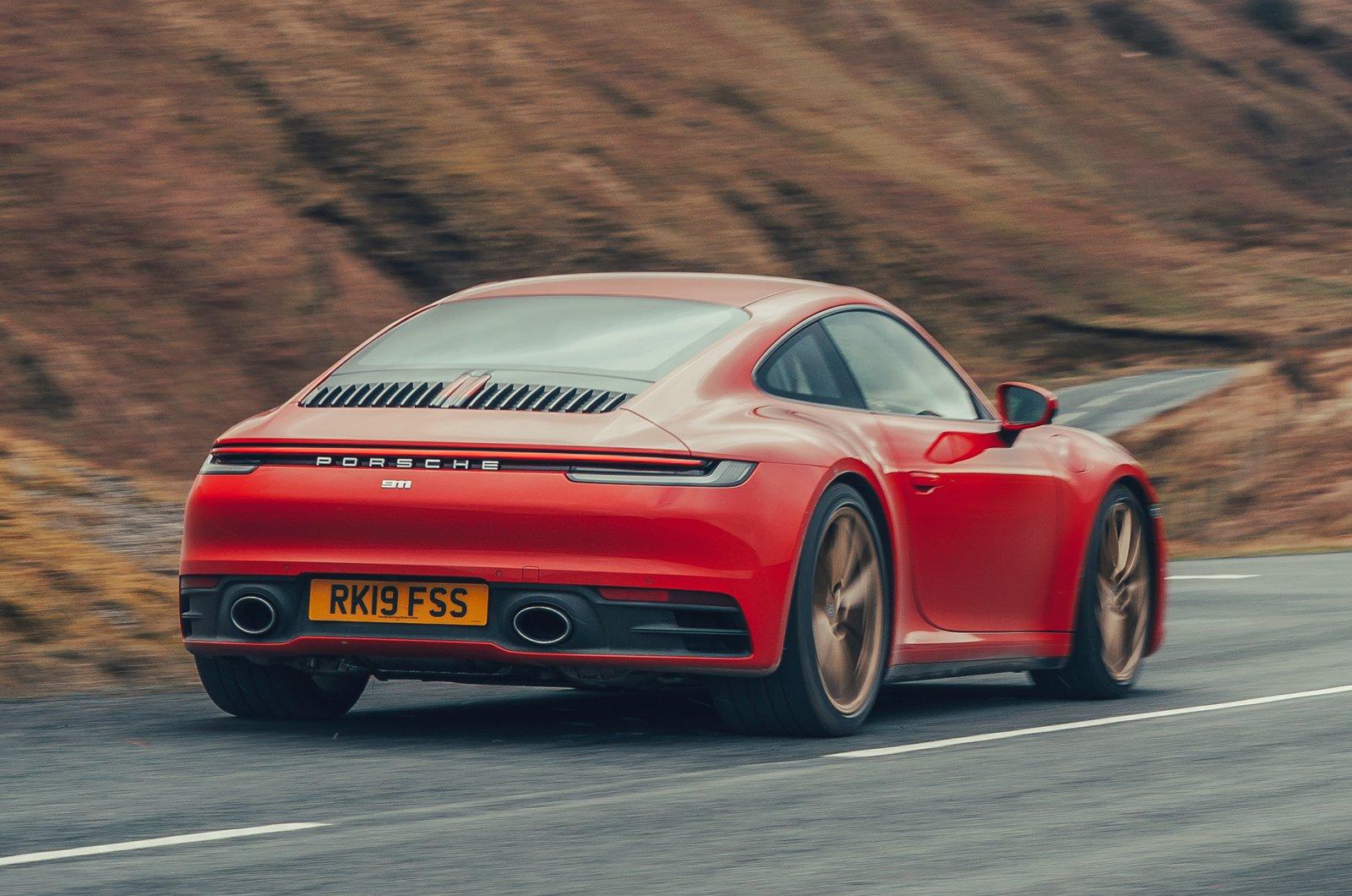 2019 Porsche 911 (992) rear
