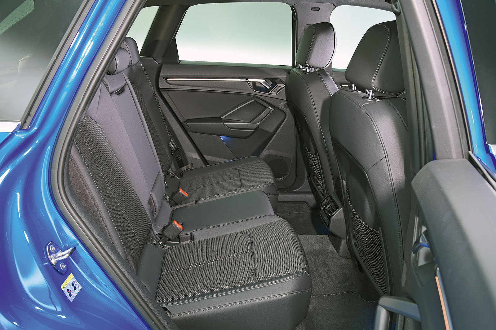 Audi Q3 back seats