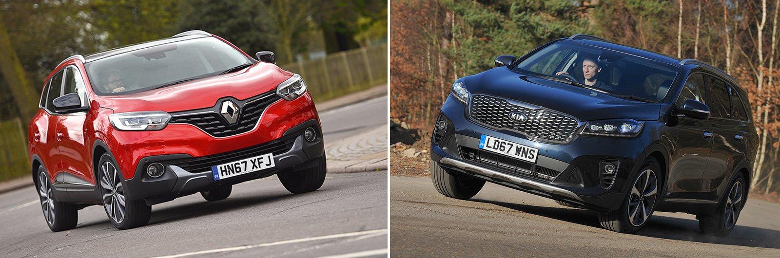 Renault Kadjar vs Kia Sorento