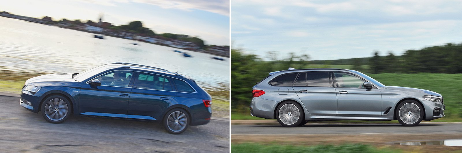 New Skoda Superb Estate vs used BMW 5 Series Touring