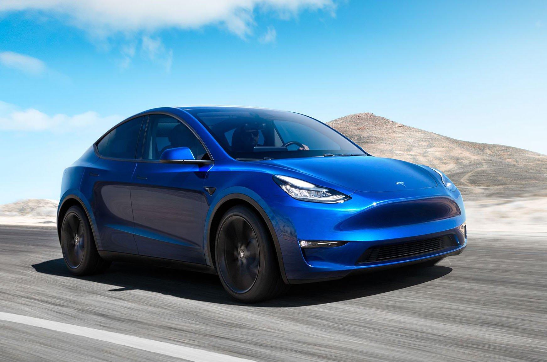 Tesla Model Y front