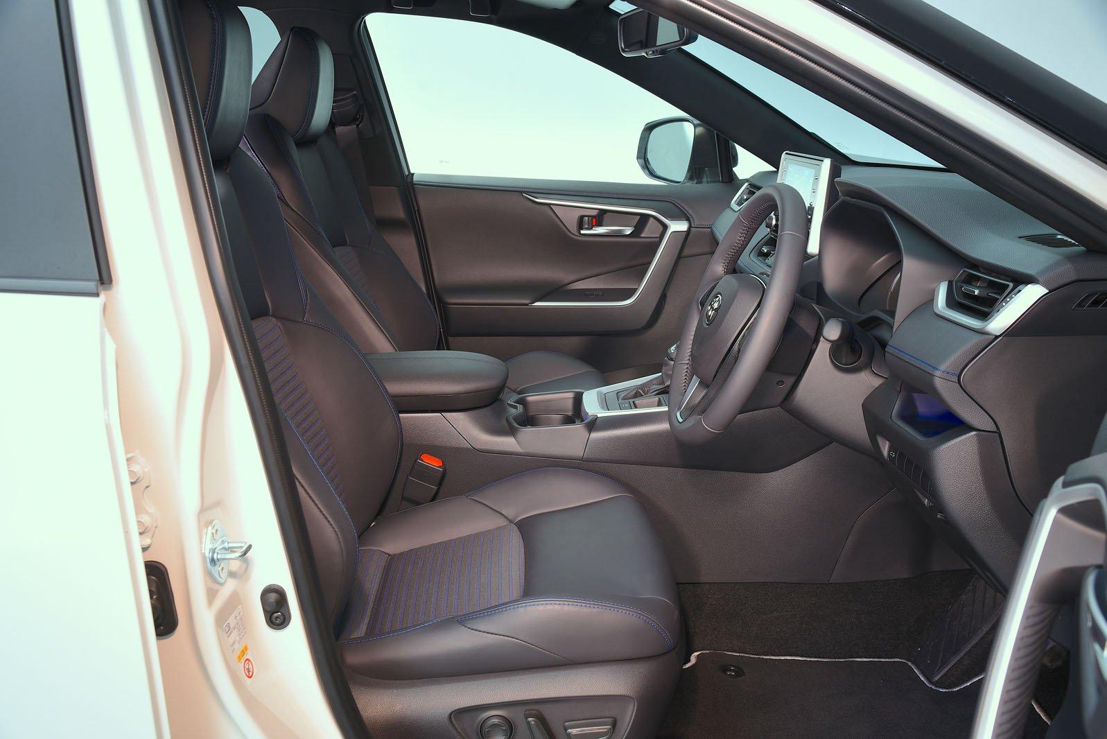 Toyota RAV4 2021 RHD front interior shot