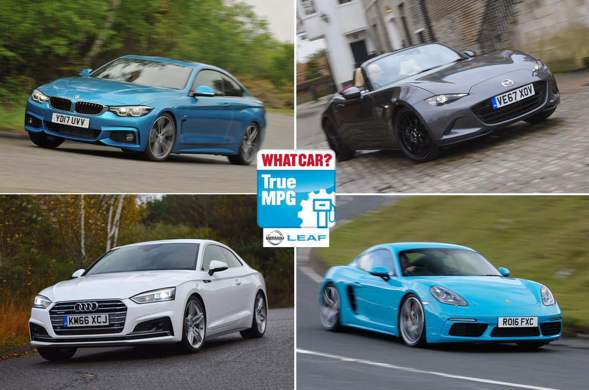 True MPG: Best and worst coupes, convertibles and sports cars