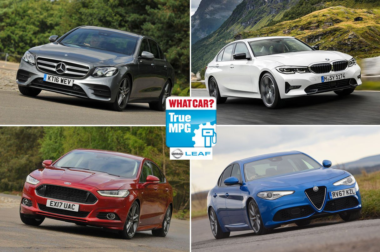 True MPG: most efficient executive and luxury cars